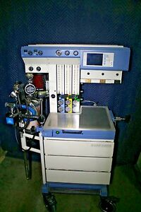 Draeger Medical Narkomed Gs Anesthesia Machine Unit Working Condition