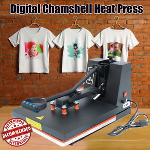 15 x15 Heat Press Transfer Sublimation Machine Digital Display Clothes T shirt