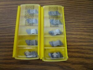 Kennametal New Carbide Insert Nas3l16 Kc5010 Box Of 10 Inserts