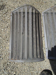 Pair 700 800 Early 730 830 Case Tractor Grills