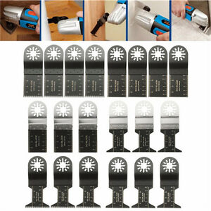20pcs Mix Blades Multi Tool Saw Blade Accessories For Fein Multimaster Bosch