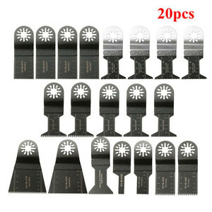20pcs Mix Blades Multi Tool Saw Blade Accessories for Dewalt Fein Multimaster B