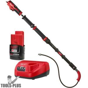 Milwaukee 2576 21 M12 Trapsnake 6 Toilet Auger Kit New