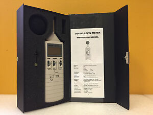 Extech 407735 35 To 100 Db 65 To 130 Db Range Sound Level Meter Tested
