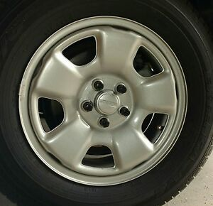 Subaru Forester Wheel 1998 2006 Nice 15 Factory Steel Wheel Includes Center Cap