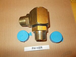 Parker S2101 16 16 Hydraulic Swivel Joint New Free Shipping
