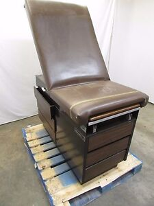 Midmark Ritter 104 Physicians Exam Table Used Some Rips In Vinyl