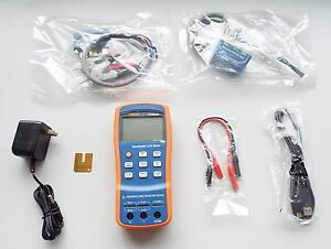 Portable Handheld Pro Lcr 0 3 Up To 100khz Esr 5 terminal Th2822c Lcr Meter