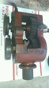Antique Peack Stow Wilcox p s W No 525 Sheet Metal Roller