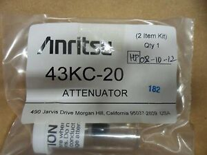 Anritsu 43kc 20 20db Dc 40ghz 2w Fixed Attenuator New Mfr Sealed Packaging
