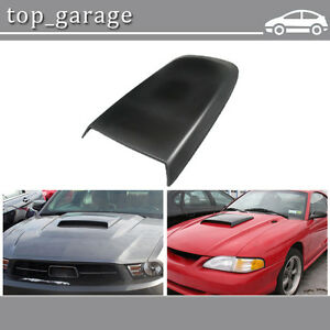 Front Black Racing Style Air Vent Hood Scoop For Ford Mustang Gt V6 V8 2005 2009