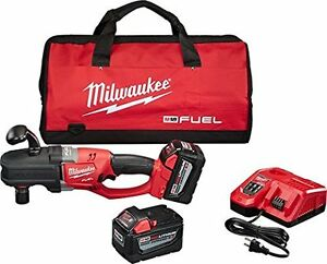Milwaukee 2708 22hd M18 Fuel 18v Brushless 1 2 Hole Hawg Right Angle Drill Kit