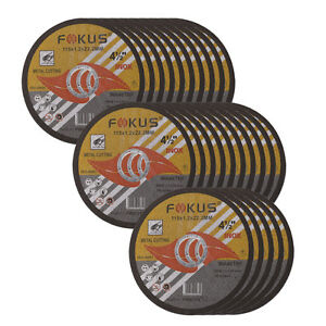 50 Pack Ultra Thin Disc 4 1 2 X 0 045 Metal Stainless Steel Cut Off Wheel