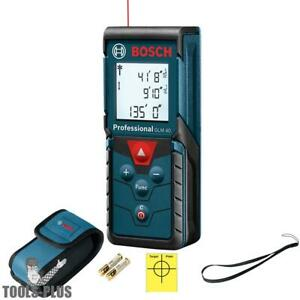 Bosch Tools Glm 40 135 Ft Compact Laser Measure New