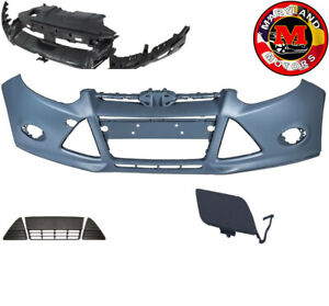 For 2012 2014 Ford Focus Front Bumper Grills With Bumper Bracket