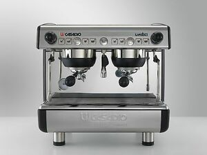 New Casadio Undici Two 2 Head Compact Espresso cappuccino Machine 208v