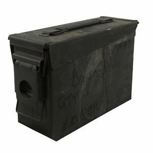 .30 Caliber Ammo Can Military Surplus Grade 2 2 Pack $19.52