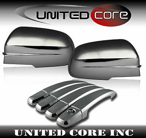 Chrome Door Handle Cover Chevy Aveo Sedan Chrome Mirror Cover 04 11 Triple Chrom
