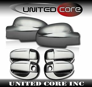 Chrome Mirror Cover Chrome Door Handle Cover Chevy Aveo5 Hatchback 04 11