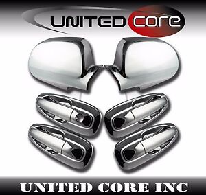 Chevy Optra Lacetti Suzuki Forenza Chrome Mirror Chrome 4 Door Handle Cover