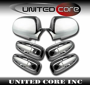 Chevy Optra Lacetti Suzuki Forenza Chrome Mirror Chrome 4 Door Handle Cover Fits Chevrolet