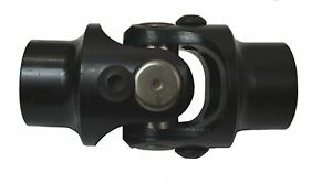 Steering U Joint Black 11 16 36 Spline X 3 4 Round New