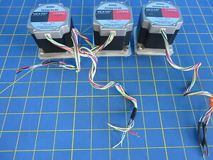 Oriental Motors Vexta Pk266 e2 0a Stepper Motor 1 8 Step Dc 2a Lot Of 3
