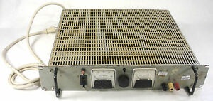 Power Source Ps4305 Ps4305m Transistor Regulated Power Supply Tested