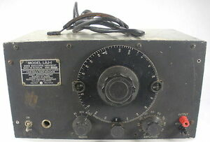 Hp Audio Oscillator Equipment Laj 1 Navy Dept Bureau Of Ships Vintage Working