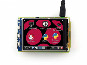 Waveshare Raspberry Pi Lcd Display Module 3 2inch 320 240 Tft Resistive Touch Sc