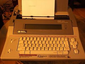 Word Processor Typewriter Smith Corona Pwp 145 Display Memory