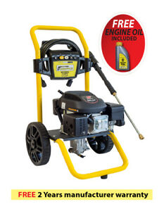 Waspper W3100va 3100psi 2 9 Gpm Gas Powered Cold Water High Pressure Washer
