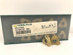 Tool flo 29474n4 L53 H903 Ext New Carbide Inserts Grade Gp50 13pcs T