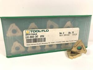 Tool flo L53 h903 int 29478n4 New Carbide Inserts Grade Gp50 10pcs T