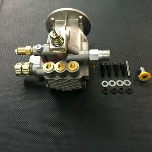 Pressure Washer Horizontal Pump 2900 Psi 2 2 Gpm Fits Most 3 4 Shaft Mount Kit