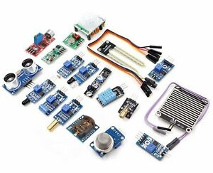 16pcs Sensor Module Kit Laser Ultrasonic For Raspberry Pi 2 Pi2 Pi3 Arduino Us