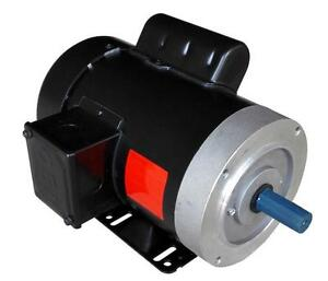 Rolled Steel Farm Duty Ac Motor 1 2hp 1800rpm 56c Removable Feet Single Phase