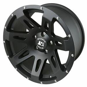 Rugged Ridge Xhd Wheel 18x9 Black Satin 07 16 Jeep Wrangler Jk