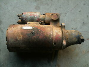 International 706 Diesel Ih Farmall Starter Delco P n 1113176