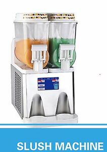 Pasmo Touch Screen T314 2tank Frozen Drink Slush Making Machine Smoothie Maker