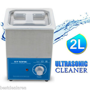 2l Ultrasonic Cleaner Dental Jewellery Parts Sonic Cleaning Equipment Timer New
