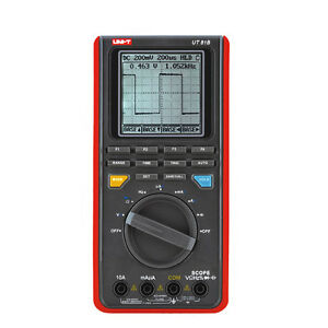 Uni t Ut81c 16mhz 80ms s Real time Sample Rate Scope Digital Multimeter Tester
