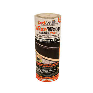 Deckwise Wisewrap Deck Ledger Flashing Tape 12 X 25
