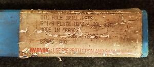 George Walley Oil Hole Drill Bit 7 8 Hss 688