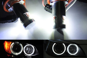Error Free Led H8 For Bmw Angel Eye Halo Light 3 series E90 E92 E82 E88 E70 E89