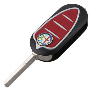 Fits For Alfa Romeo Mito Giulietta Gto 159 3 Button Remote Key Fob Case Blade Nw