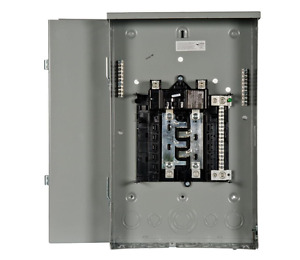 200 Amp 8 Space 16 Circuit Main Breaker Box Outdoor Trailer Panel Load Center