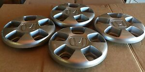 Honda Ridgeline Pilot Oem Wheel Center Cap Sparkle Silver Finish Sjc a0 Cav1