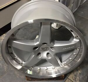 Hamann Pg2 2pc 19 X 10 Et 19 5 120 Silver Genuine New Made By Oz One Wheel Only