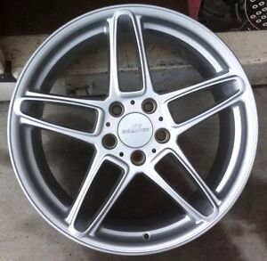 Ac Schnitzer Type Lll 1pc 19 X 8 5 Et 43 5 120 Silver Made In Germany 1 Pc Only